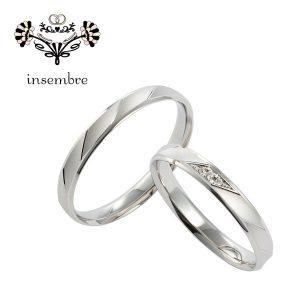インセンブレ結婚指輪ペアリング(2)