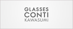 グラスコンティ川スミ|メガネ